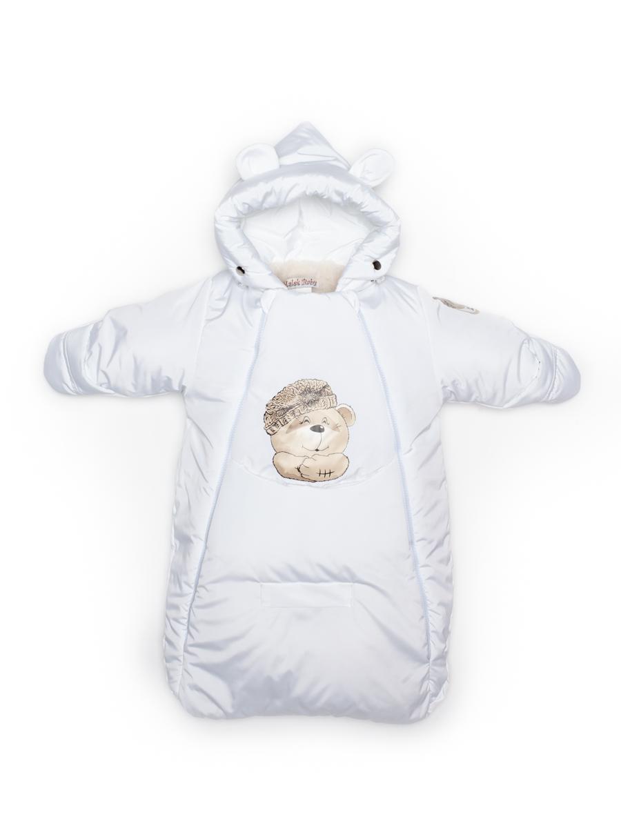 Комбинезон мешок Malek Baby Белый 306Ш р.68