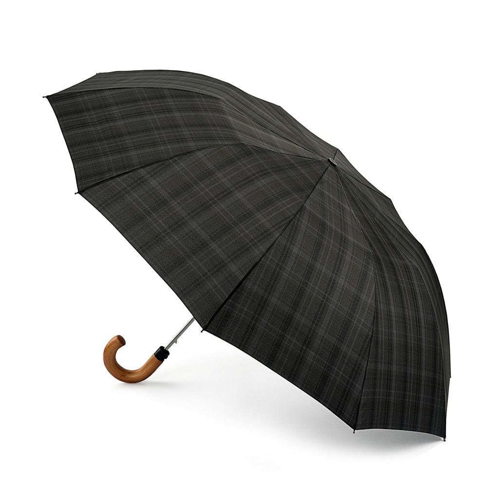 Зонт складной мужской полуавтоматический Fulton G857-3559 черный