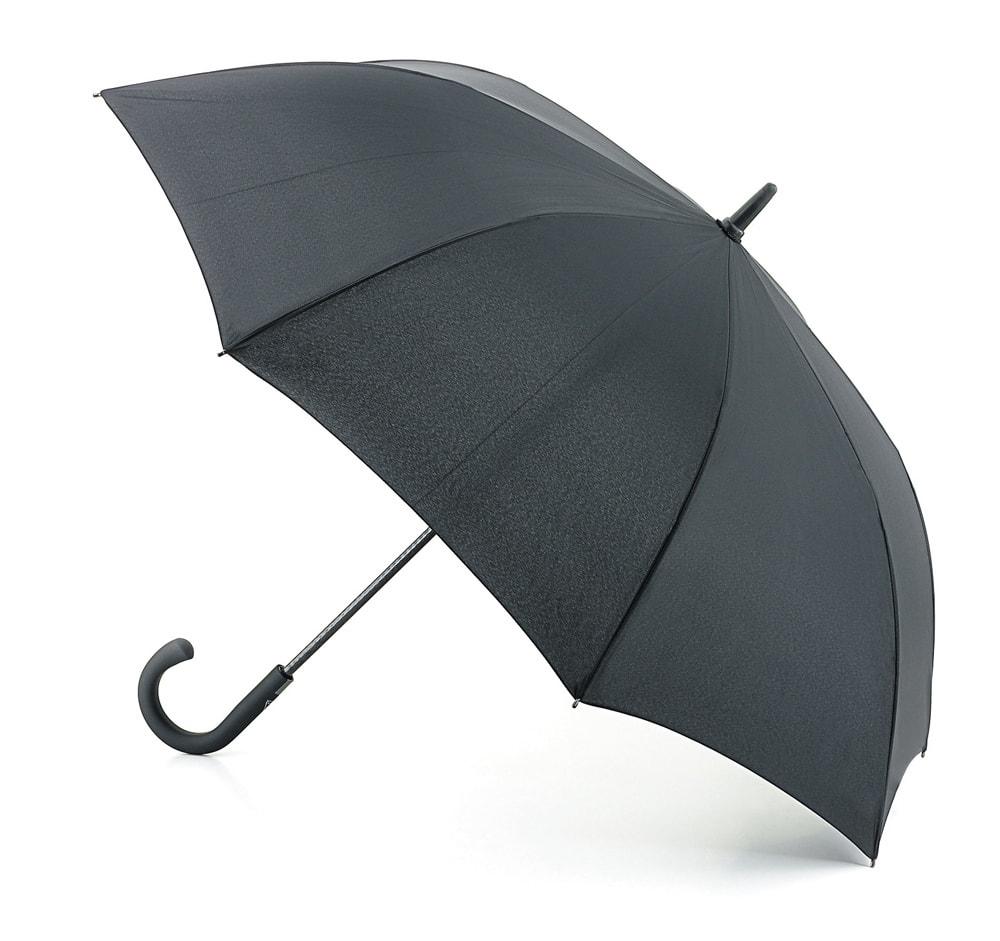 Зонт-трость мужской автоматический Fulton G828-01 черный