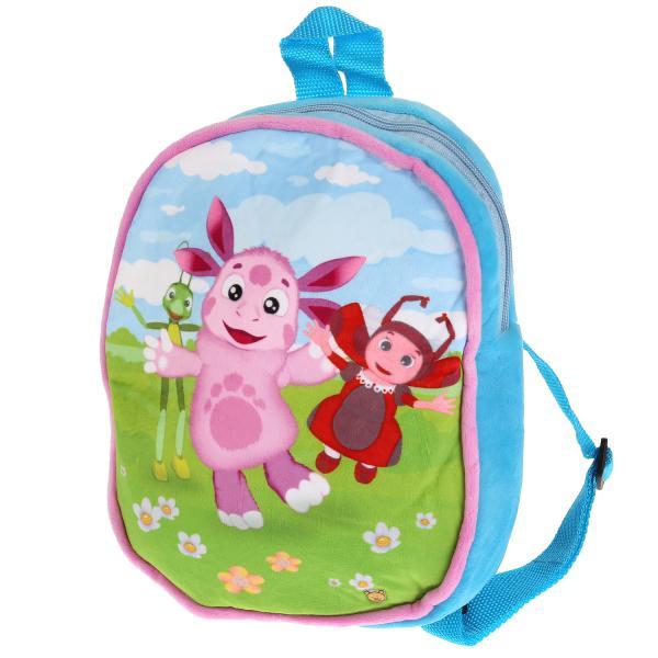 Рюкзак детский Мульти-Пульти Мягкий Лунтик и его друзья, 25 см