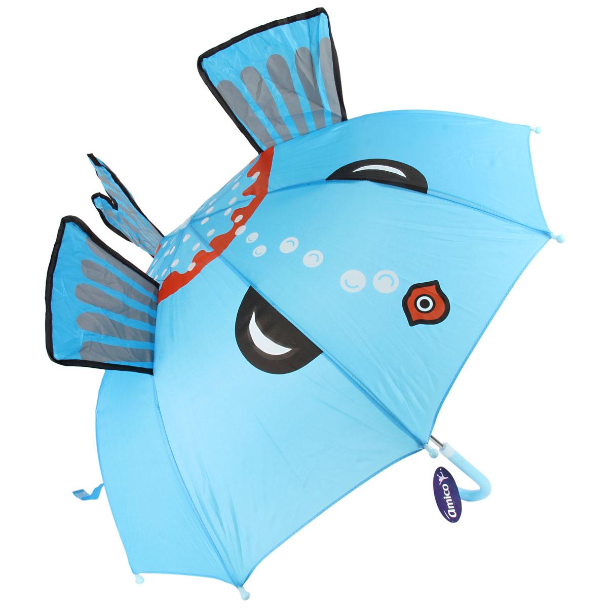 Зонт трость детский Ami&Co длина 60 см/диаметр