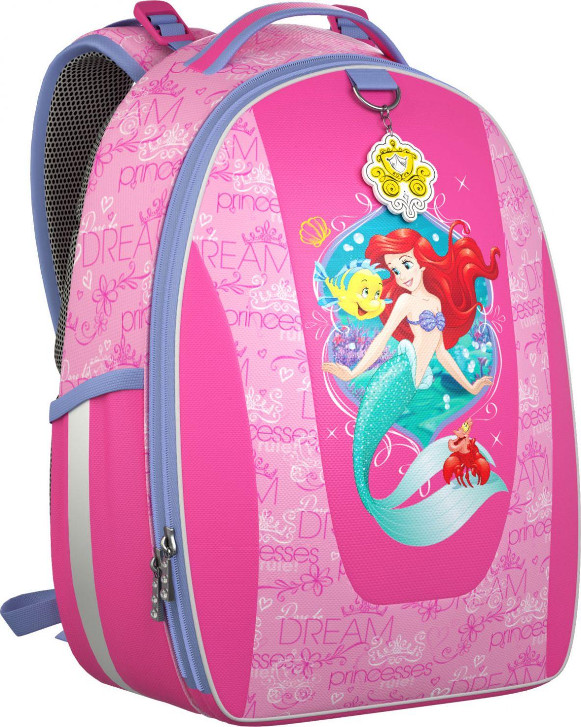 Купить Рюкзак Принцессы Королевский бал Erich Krause для девочек Розовый 42302, ErichKrause, Школьные рюкзаки для девочек