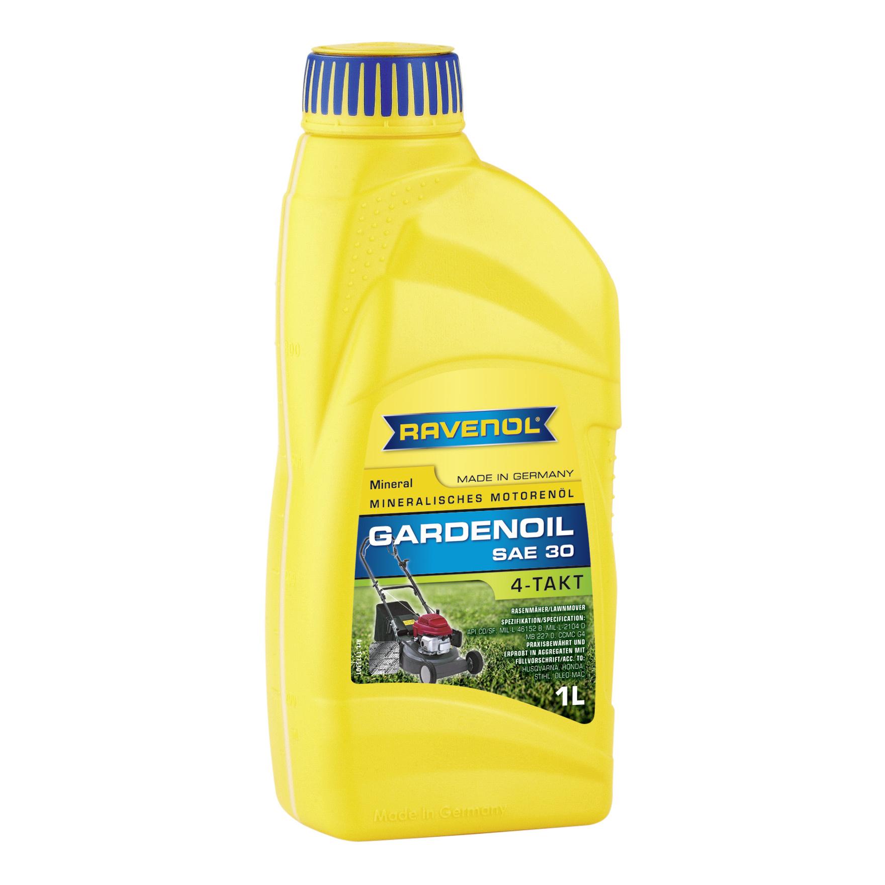 Моторное масло Ravenol 4 Takt Gardenoil