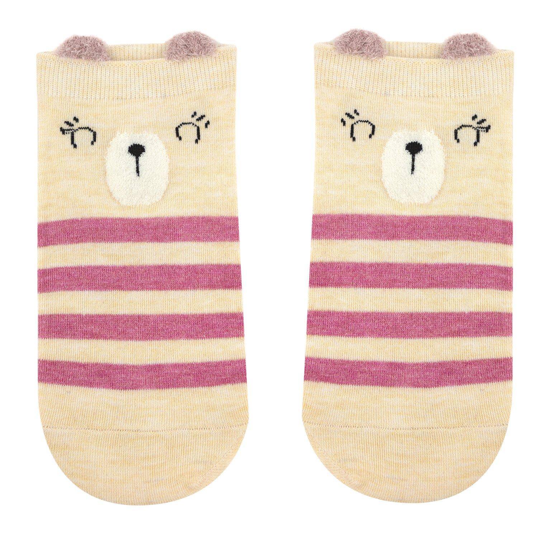 Носки женские Kawaii Factory Pinky разноцветные 35-39