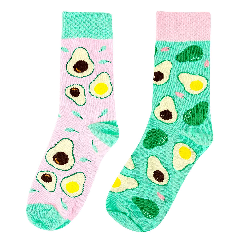 Носки женские Kawaii Factory Kawaii avocado разноцветные 35-39