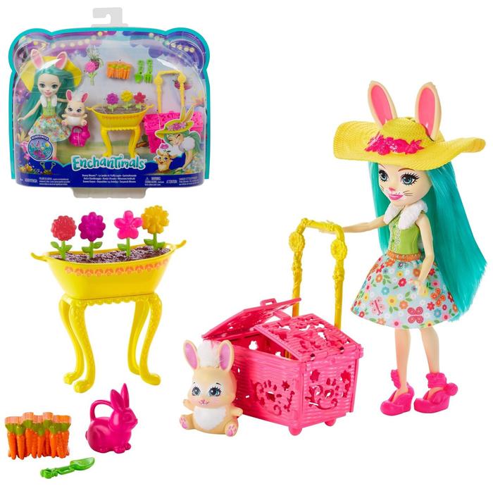 Игровой набор Бри Кроля в саду Mattel