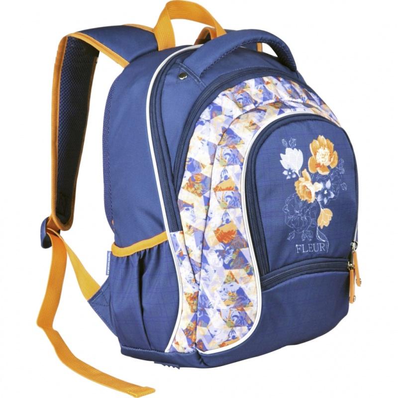 Купить Рюкзак школьный La'Fleur Erich Krause для девочек Синий 39357, ErichKrause, Школьные рюкзаки для девочек