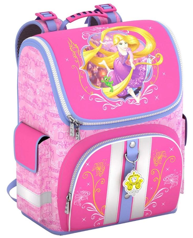 Купить Ранец Принцессы Disney Королевский бал Erich Krause для девочек Розовый 42300, ErichKrause, Школьные рюкзаки для девочек