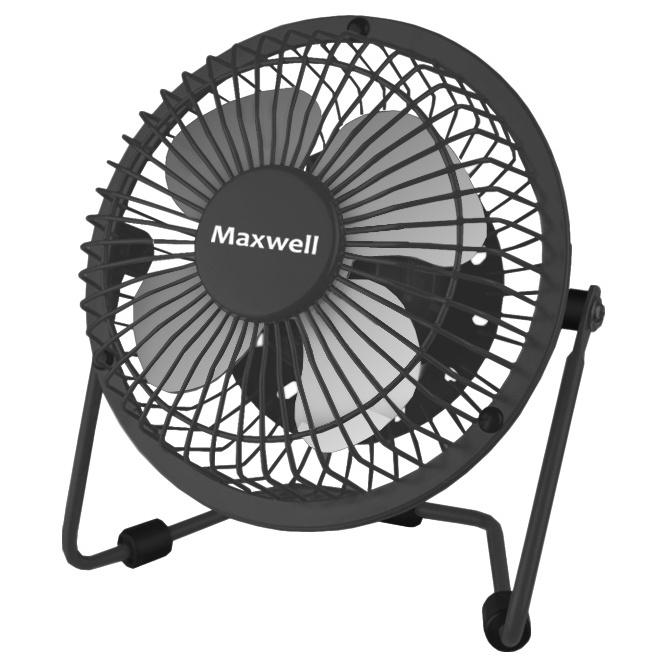 Вентилятор настольный Maxwell MW 3549 GY black