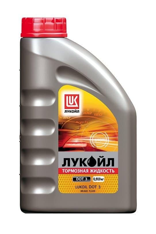 Тормозная жидкость ЛУКОЙЛ DOT 3 900 гр