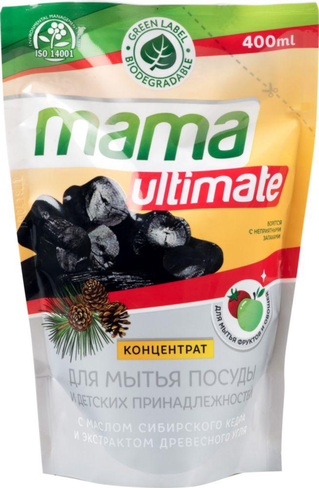 Концентрат для мытья посуды Mama Ultimate уголь