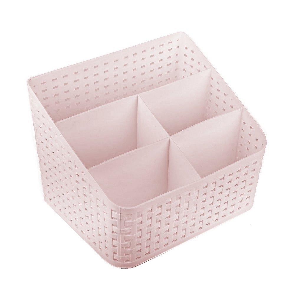 Органайзер для косметики Verona Flour, розовый
