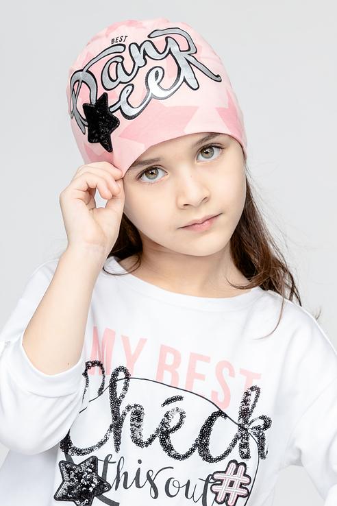 Купить 11903GMC7302, Шапка детская Gulliver, цв. розовый р-р 50,