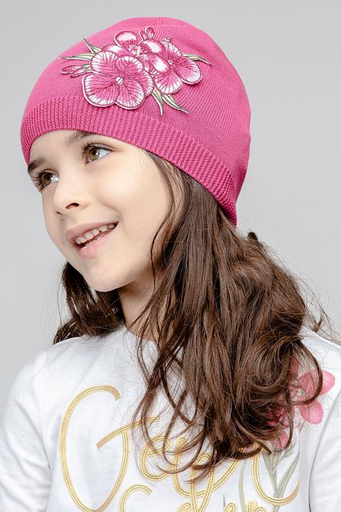 Купить 11902GMC7303, Шапка детская Gulliver, цв. розовый р-р 50,