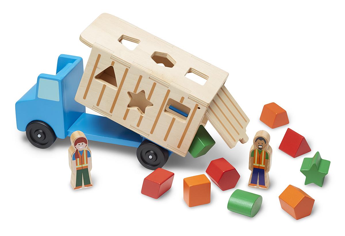 Купить Классические игрушки Самосвал сортировщик, Melissa & Doug,