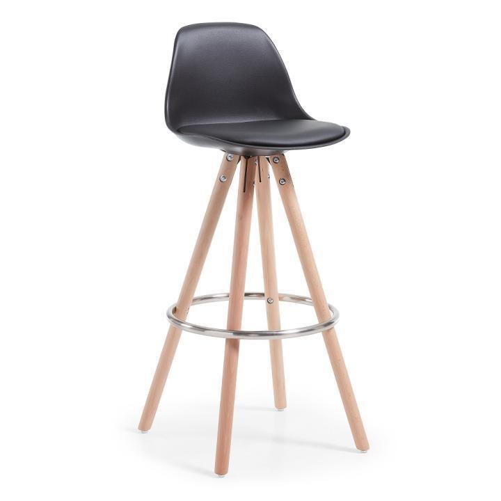 Барный стул Stag черный фото