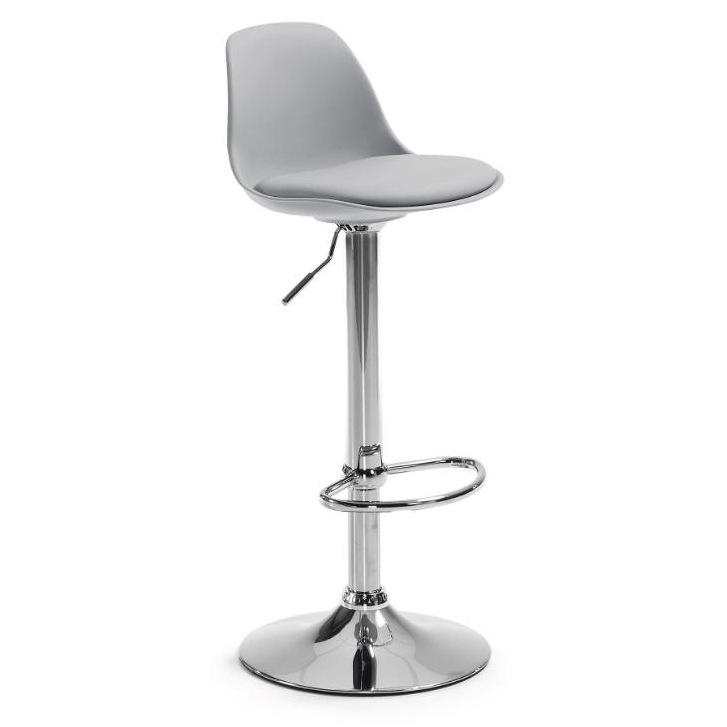 Барный стул Orlando серый фото