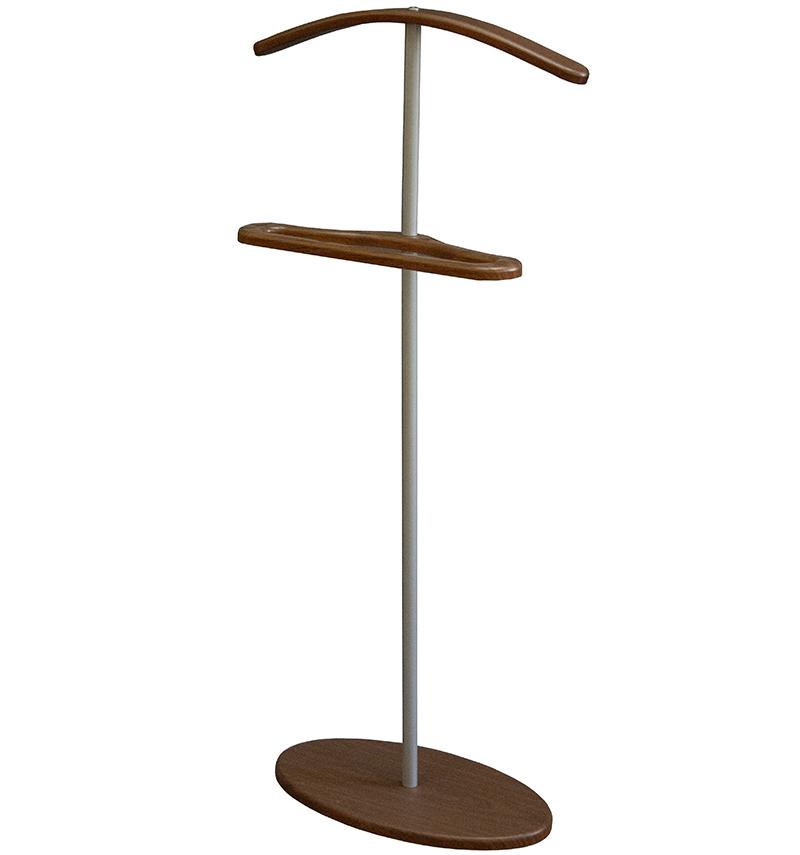 Вешалка костюмная Дэви 3 металлик/средне коричневый/4856