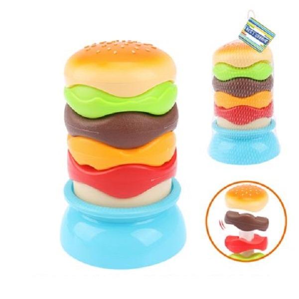 Пирамидка S+S Toys Бургер