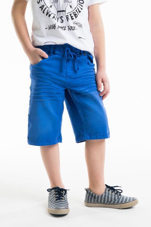 Купить 181MHBM011, Шорты для мальчика MEK, цв.синий, р-р 128,