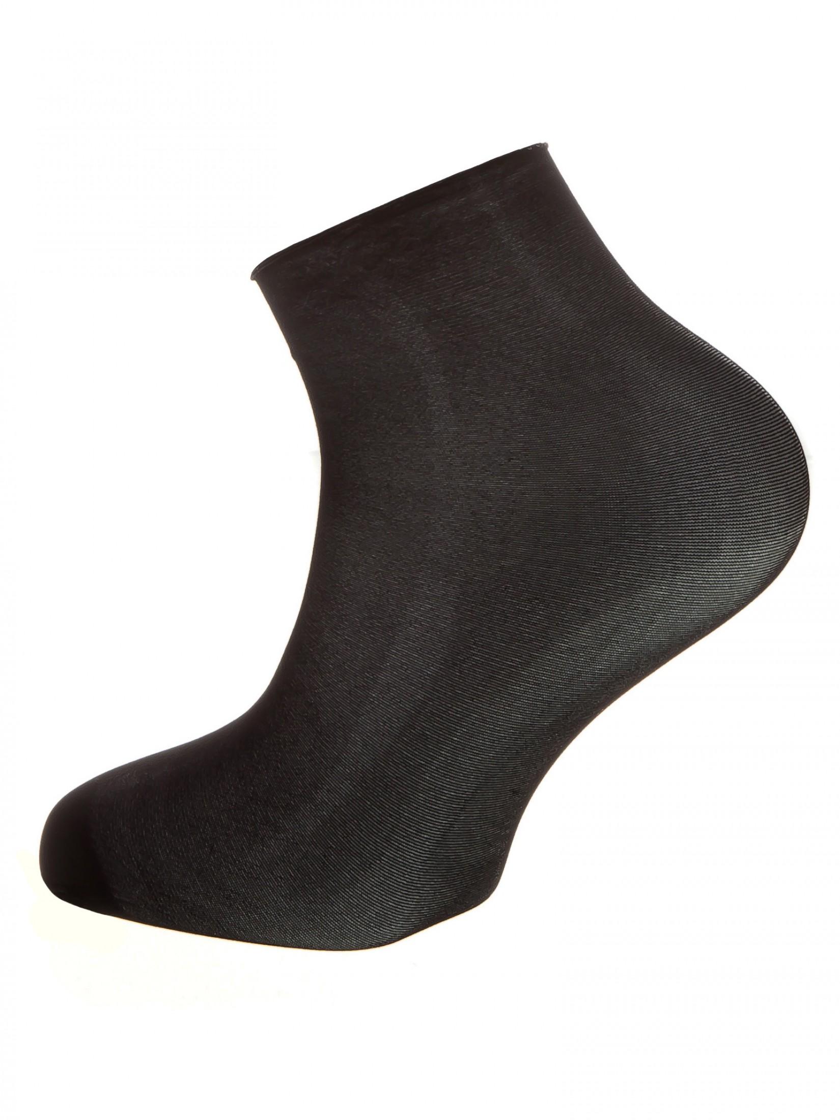 Капроновые носки женские Mademoiselle Simply (c.) черные UNICA