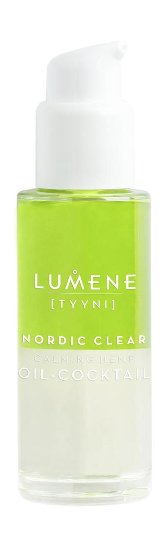 Купить Успокаивающая сыворотка Lumene Nordic Clear [Tyyni] Calming Hemp Oil-Cocktail 30 мл