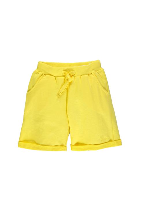 Купить 191BGBM009, Шорты для девочки Brums, цв.желтый, р-р 140, Шорты для девочек