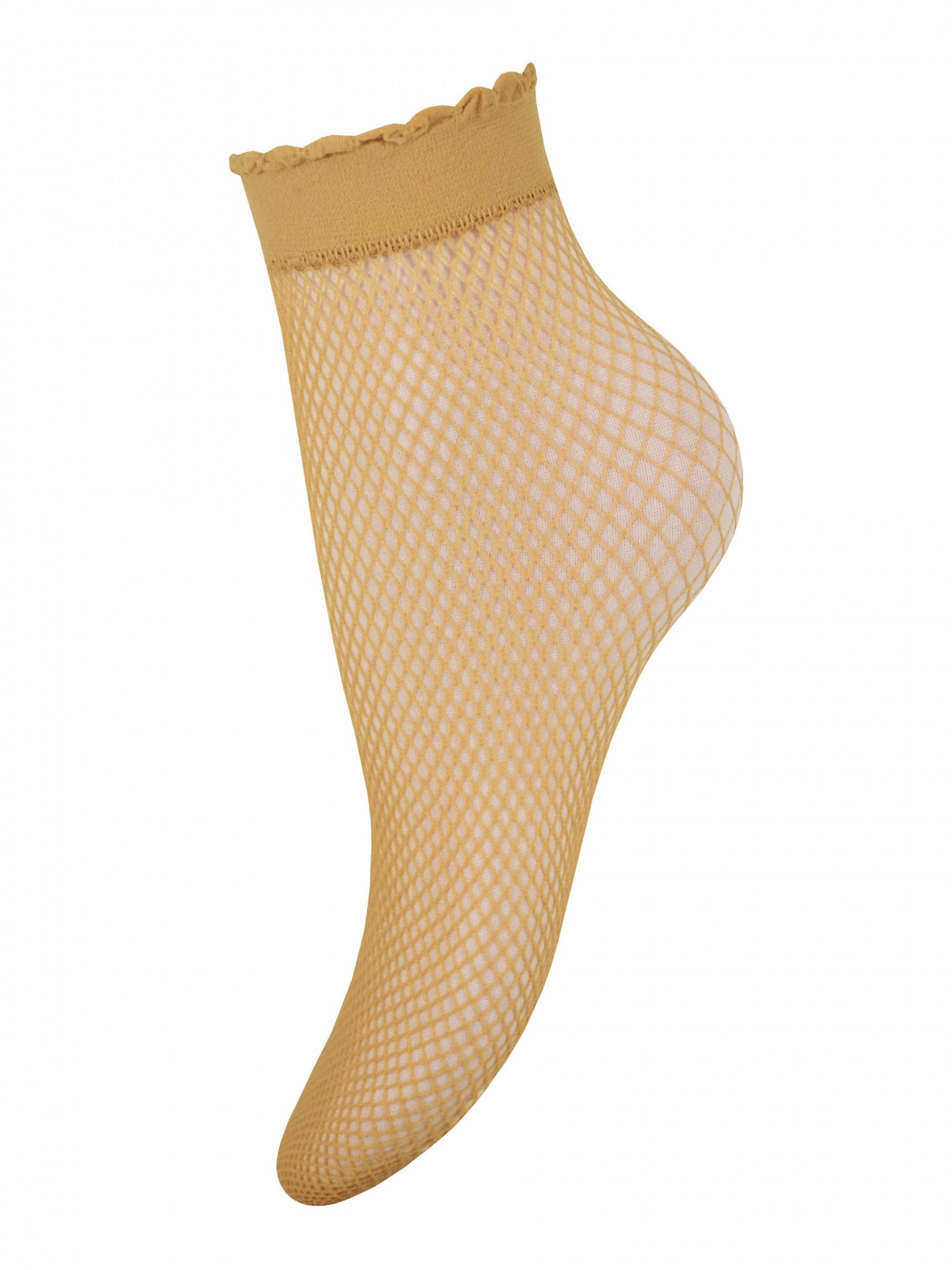 Капроновые носки женские Trasparenze Idra бежевые UNICA