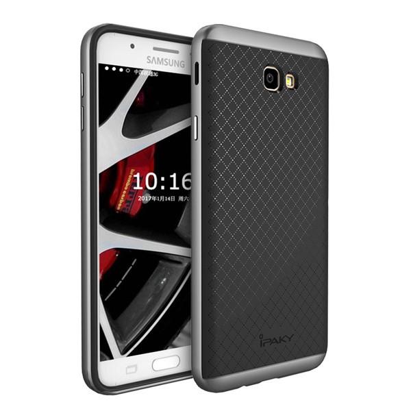 Чехол iPaky +PC для Samsung G610F Galaxy J7 Prime (2016) Black/Grey