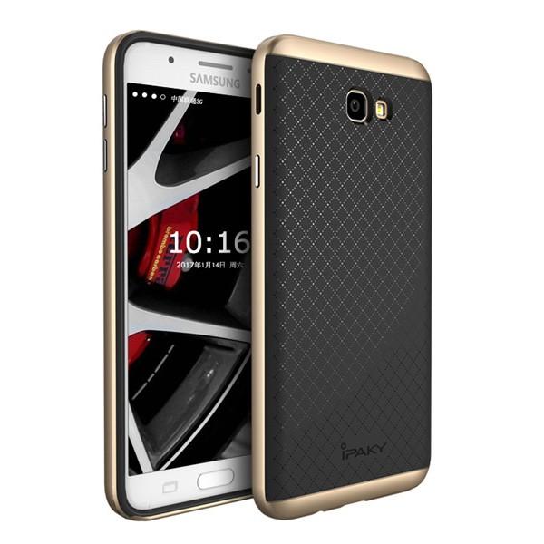 Чехол iPaky +PC для Samsung G610F Galaxy J7 Prime (2016) Black/Gold