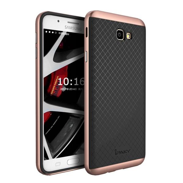Чехол iPaky +PC для Samsung G610F Galaxy J7 Prime (2016) Black/Rose Gold