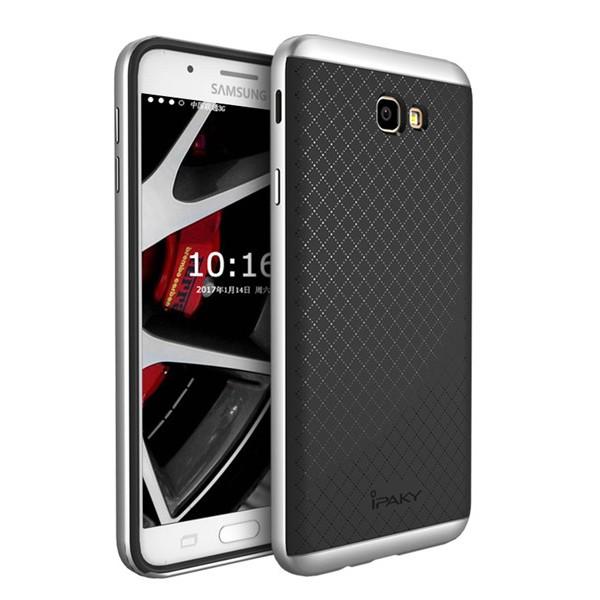 Чехол iPaky +PC для Samsung G570F Galaxy J5 Prime (2016) Black/Silver