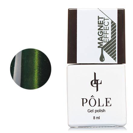 Гель-лак POLE №4, Изумрудный зеленый