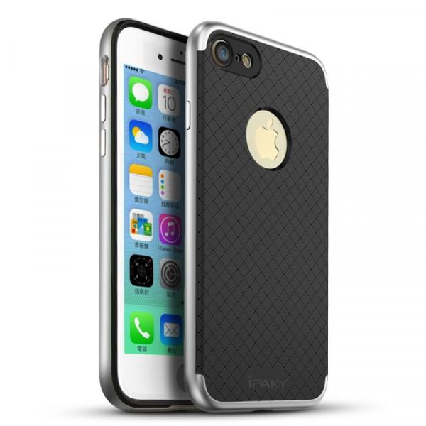 Чехол iPaky +PC для Apple iPhone 7/8 (4.7) Black/Silver