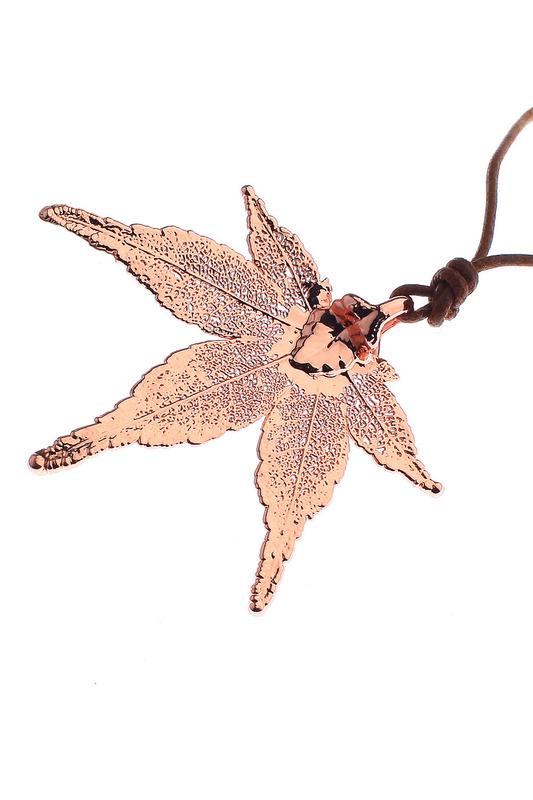 Колье женское Ester Bijoux LF55A-RG BR золотистое/коричневое.