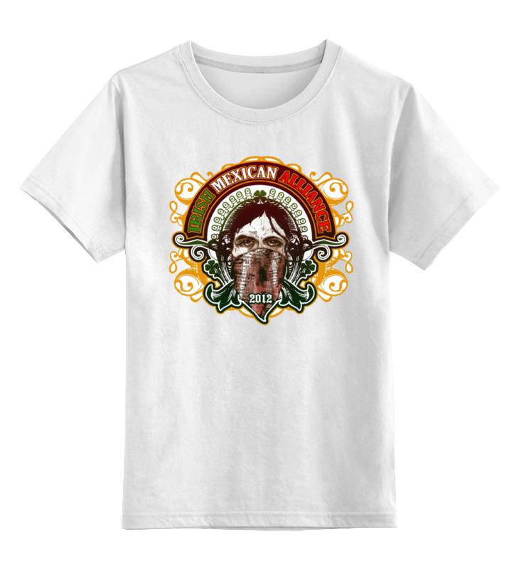 Детская футболка классическая Printio Irish mexican alliance, р. 104