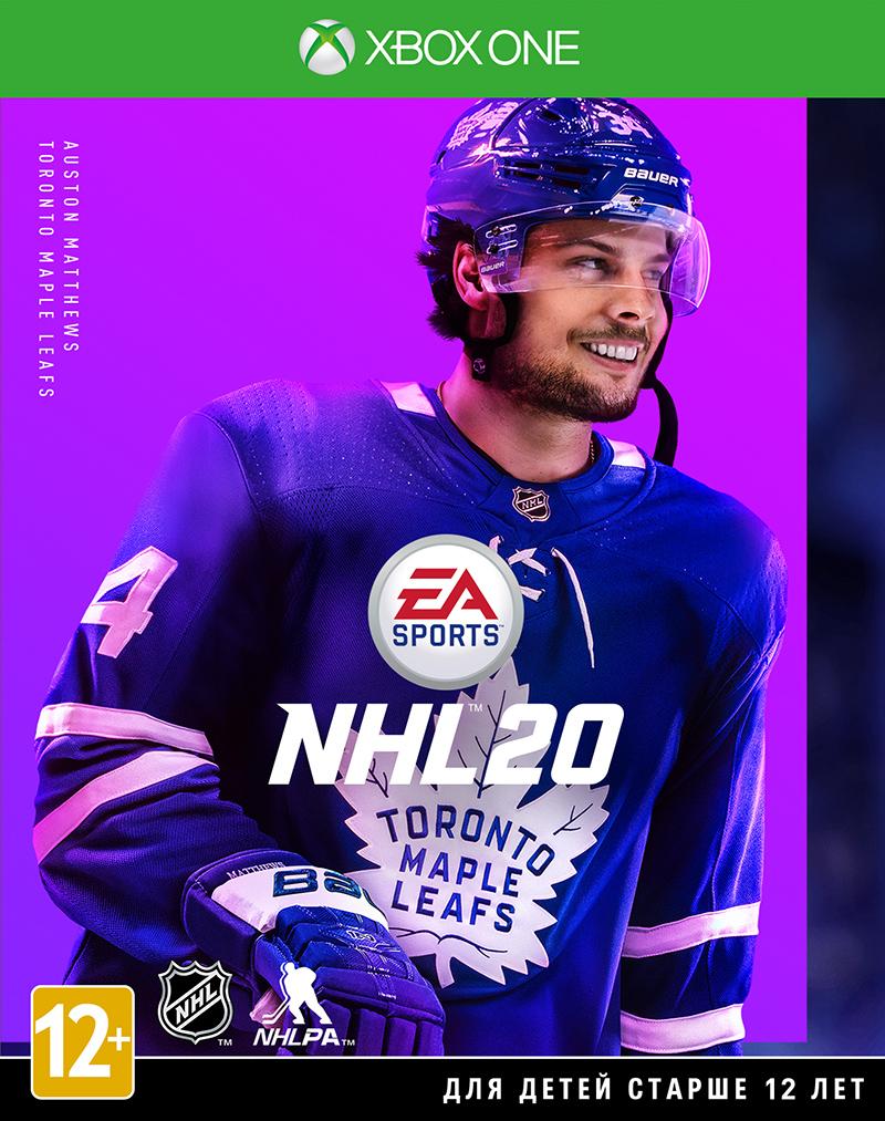 Игра NHL 20 (Нет пленки на коробке) для Xbox One