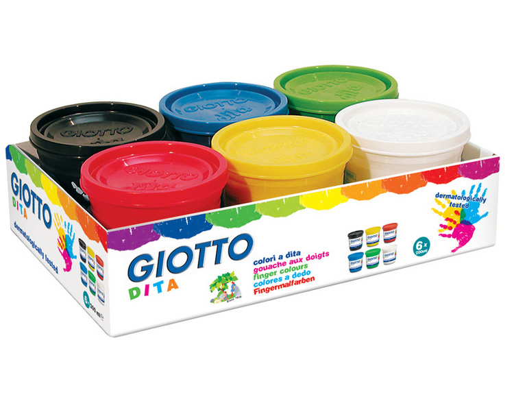 Пальчиковые краски Fila giotto F535000