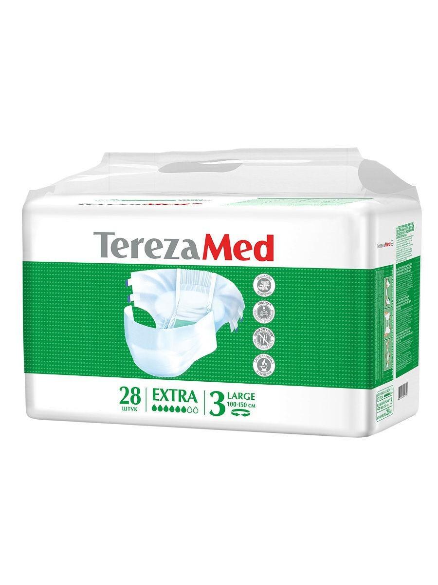 Подгузники TerezaMed для взрослых Extra р.3 large