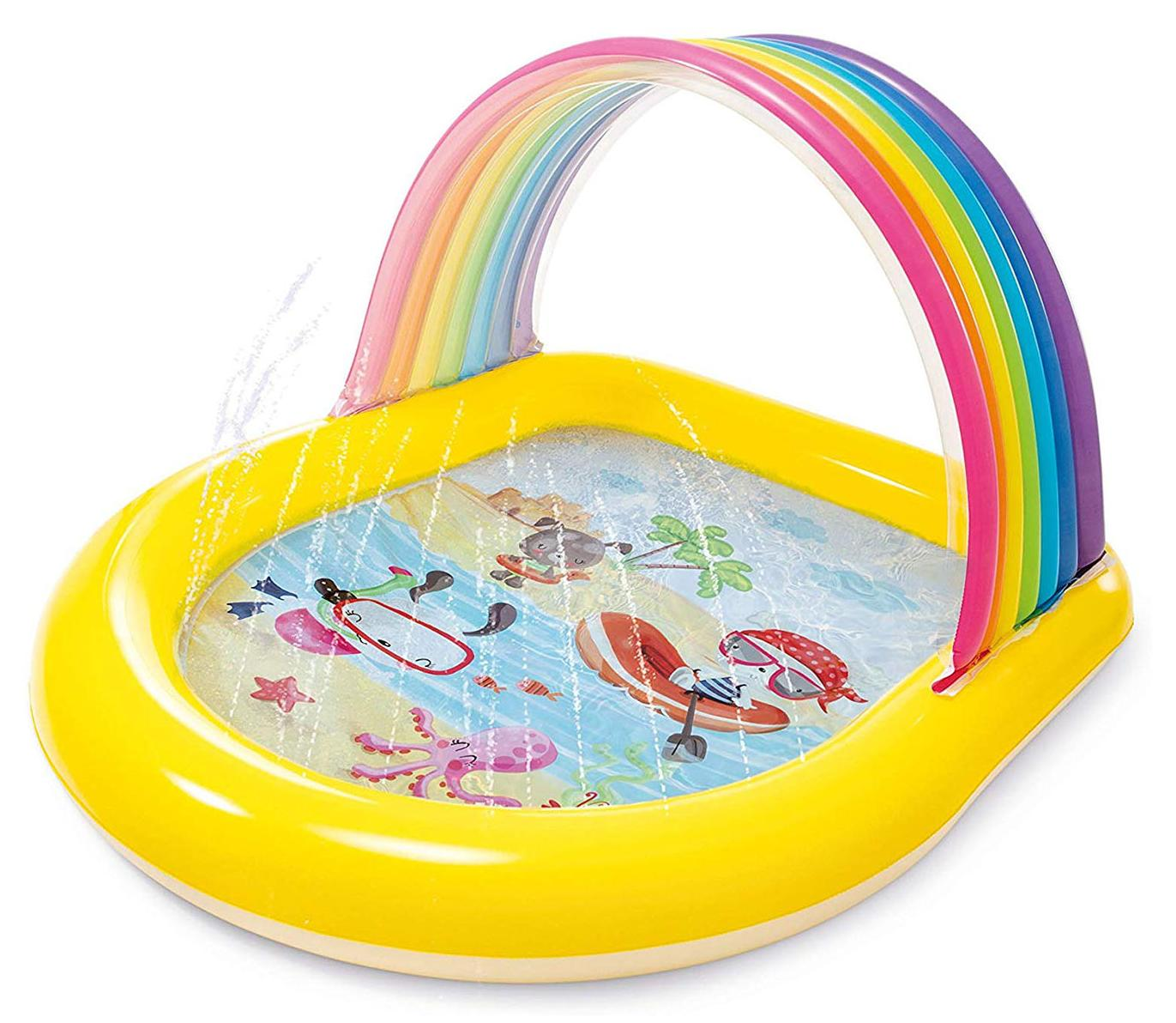Купить Бассейн с аркой Intex 147х130х86 см, Детские бассейны