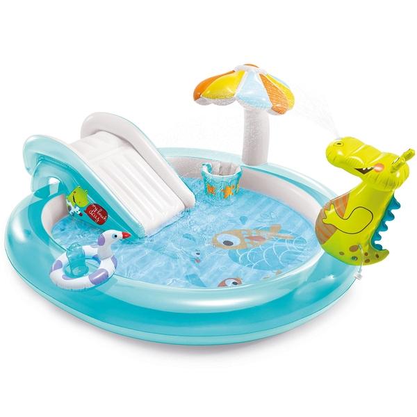 Купить Игровой центр-бассейн Intex Аллигатор, 201х170х84 см, Детские бассейны