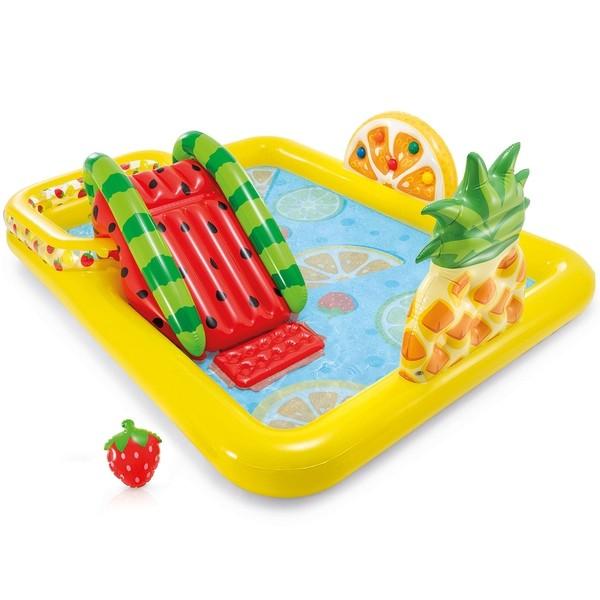 Купить Игровой центр-бассейн Intex Fun'N Fruity, 244х191х91 см, Детские бассейны