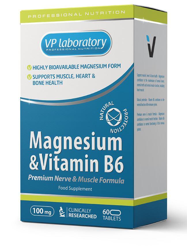 Магний + витамин B6 таблетки 60