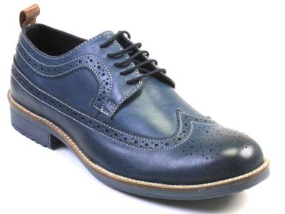 Туфли мужские Airbox 136033 синие 42 RU