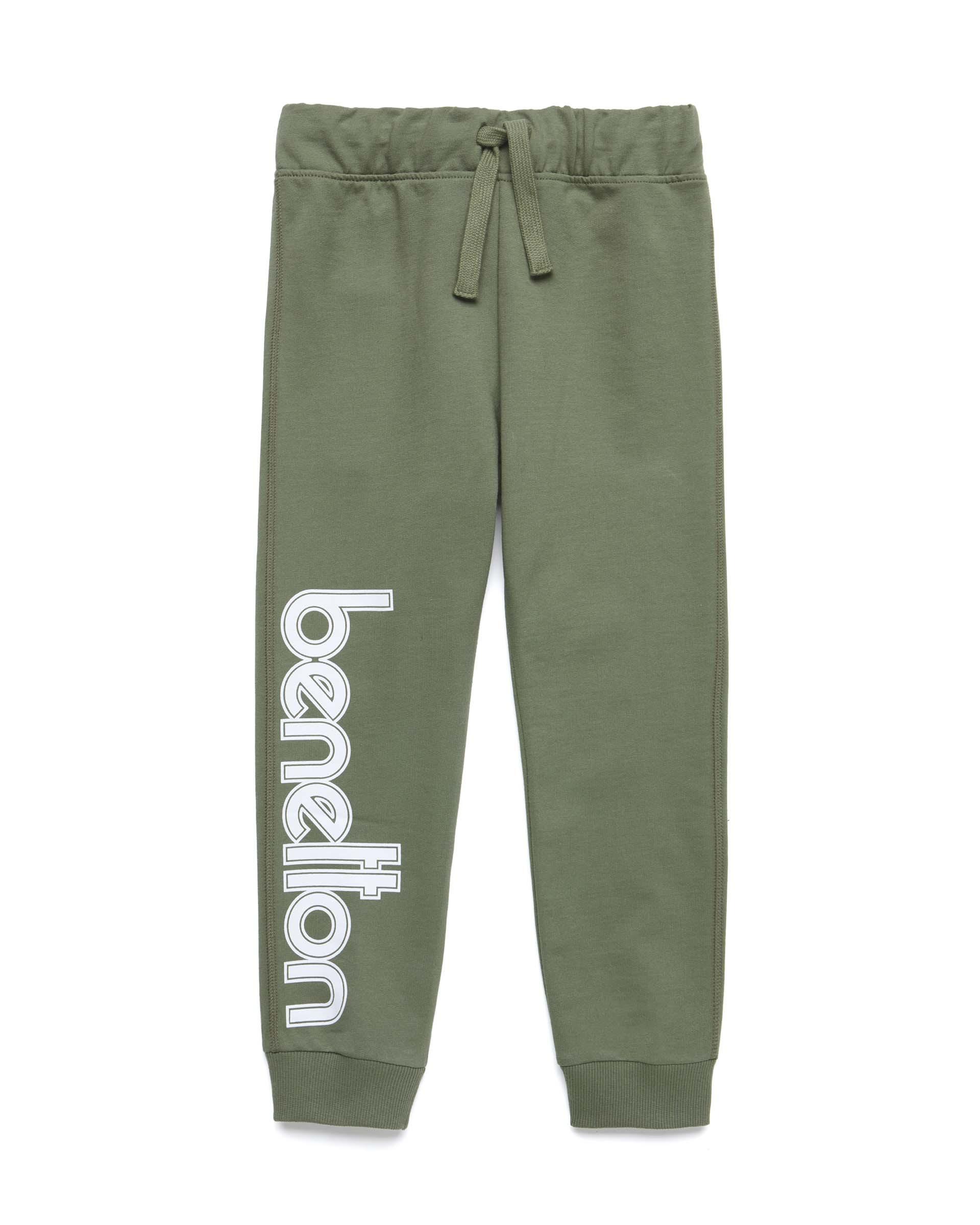 Купить 20P_3BC1I0986_07N, Спортивные брюки для мальчиков Benetton 3BC1I0986_07N р-р 80, United Colors of Benetton, Шорты и брюки для новорожденных