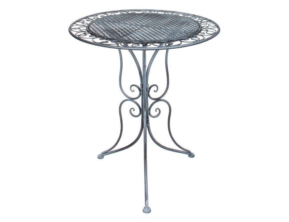Стол для дачи Edelman 1011830 серый 70х60 см