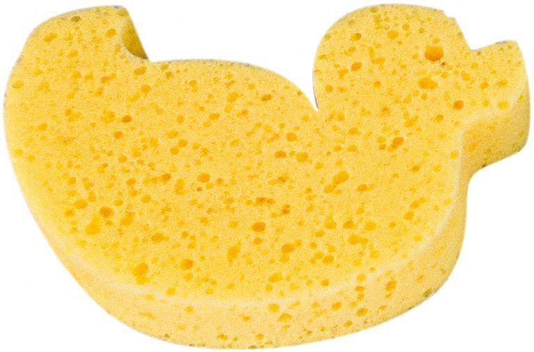 Купить Губка для купания Canpol Animals арт. 43/104 цвет желтый, Canpol Babies,