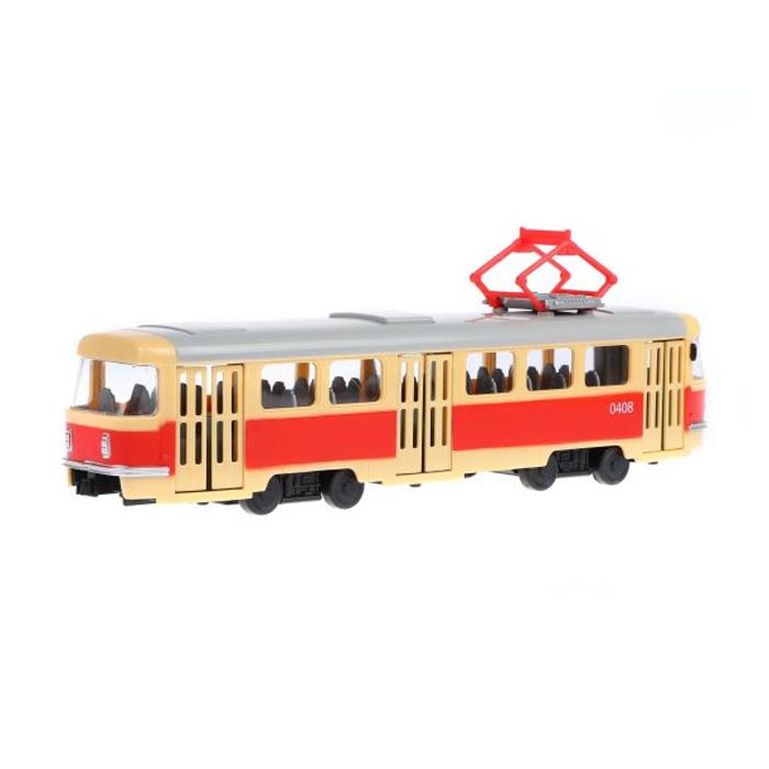 Трамвай инерционный Городской