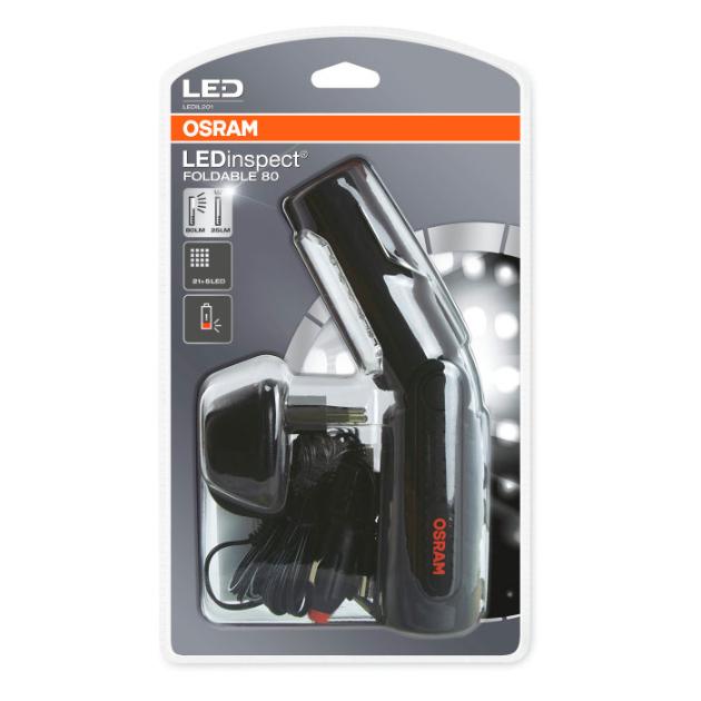 Инспекц. фонарь LED переноска (АКБ 220/12V) Foldable