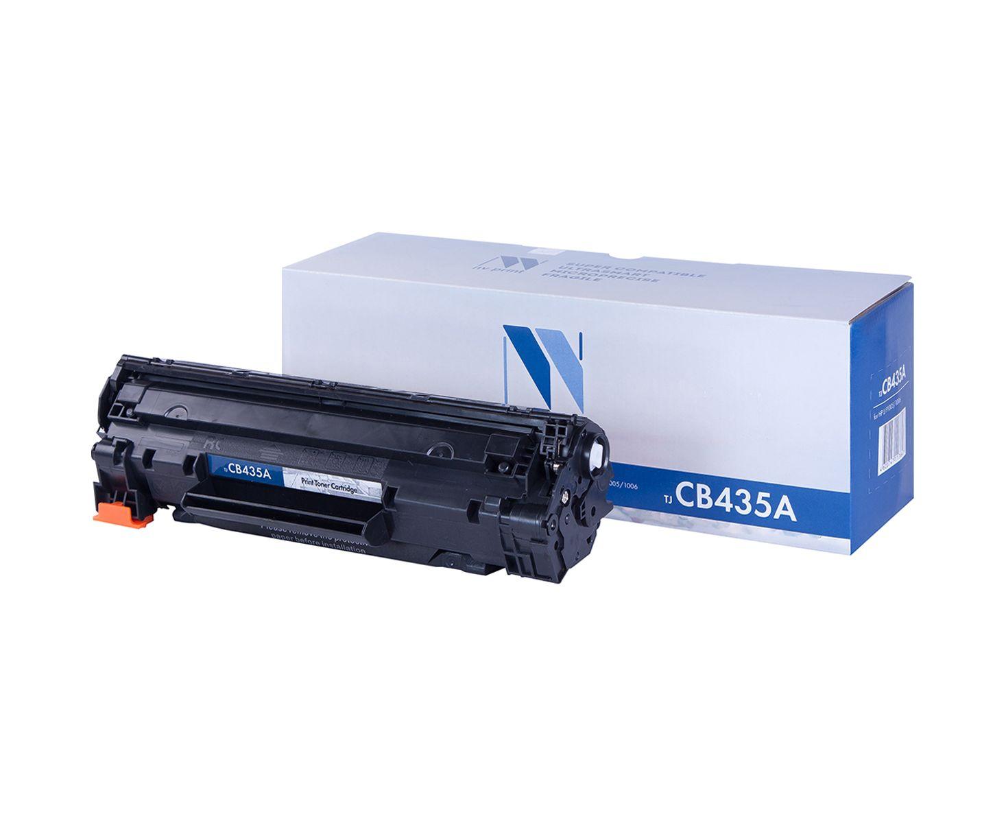 Картридж для лазерного принтера NV Print CB435A, черный NV-CB435A